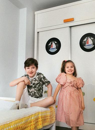 Koton Kids Elbise Gri